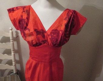 Hawaiian Tog Maxi Dress