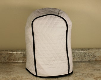 Keurig Cover 300+ color combos - 4 Sizes - White/Black Trim Shown- Great Gift for Xmas/Brides/Mother's Day!  Gift Under 40
