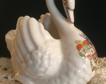 Vintage Collectible Swan Figurine