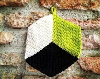 2 crochet Potholders