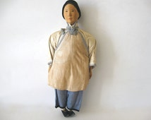 RESERVED FOR A.C.  Antique 1902 Door of Hope Amah Doll / Door of Hope Mission Doll