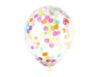 Confetti Balloon - Choose Size and Color
