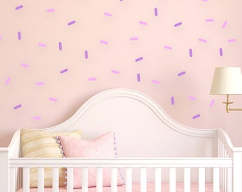 Sprinkles Wall decal, sprinkle decorations, kids wall decorations, sprinkles decal, baby room decor, nursery wall decal, kids wall decals
