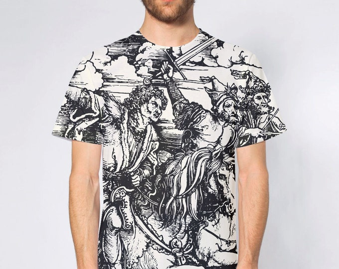 KillerBeeMoto: Albrecht Dürer's Four Horsemen of The Apocolypse T-Shirt