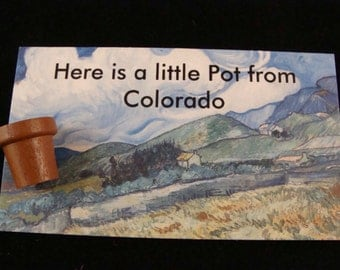 Here is a little Pot from Colorado