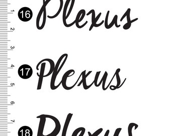 "Plexus Decal Sticker Sets of 10 (2"") 73761AO"