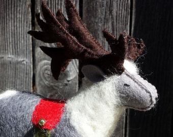 Felt Reindeer, Reindeer, Felt Animals, Reindeer