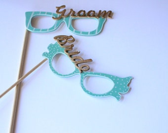 Photo Booth Eye Glasses,Wedding Photo Booth Sign, Photo Booth Props Graduation, Wood Signs with Sayings, Party Decoration Kit, Funny Décor