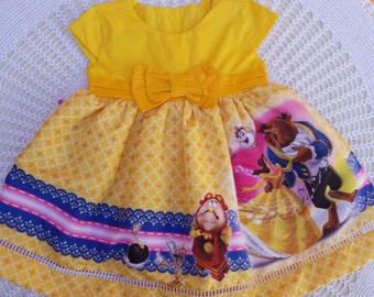 BELLE dress Princess costume TUTU dress Belle costume