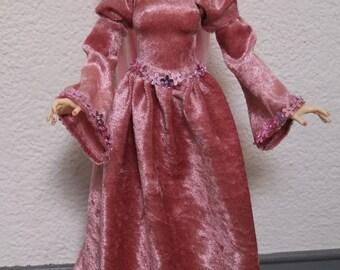MSD & UNOA Medieval Velvet Dress