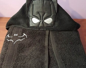 Batman Hooded Towel