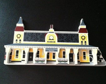Conway scenic Railroad Station; North Conway, New Hampshire  Sheila Collectible House