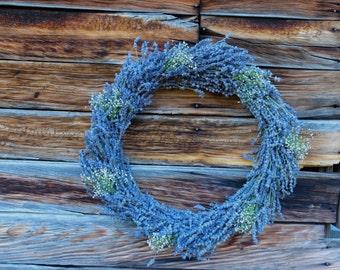 Rustic Lavender Wreaths