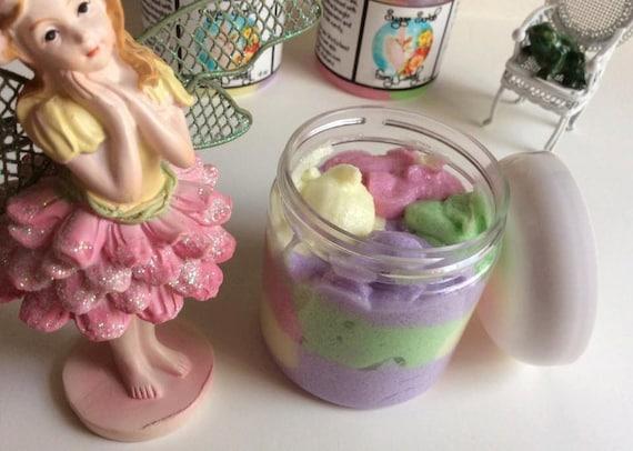 Fairy Candy~Whipped Fluffy Sugar Scrub Soap ~4 oz~Luxury Sugar Scrub~~