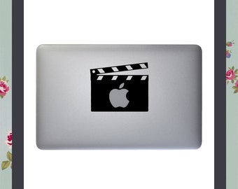 Mac Decal, Clapperboard iMovie, Apple Macbook and other laptop sticker