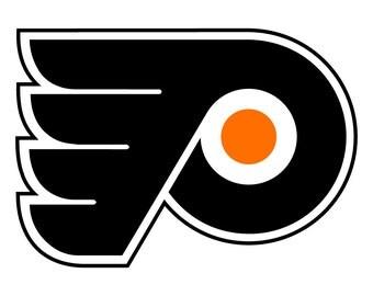 Philadelphia Flyers Decal Sticker 3 Colors