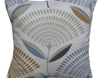 "Dandelion Fabric Saffron Colour 16"" Cushion Cover"