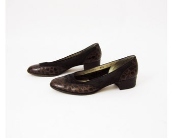 90s Salvatore Ferragamo Pumps 7