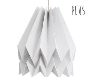 lampe origami etsy. Black Bedroom Furniture Sets. Home Design Ideas