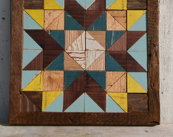 wooden barn quilt,  rustic quilt decor