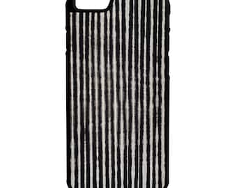 Grey Stripes iPhone Galaxy Note LG HTC Hybrid Rubber Protective Case
