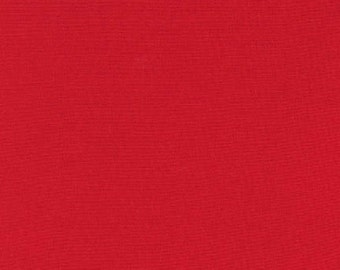 Kona Cotton in Poppy - Robert Kaufman (K001-1296)