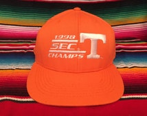 Tennessee Volunteers 1998 SEC Champs Orange Snapback hat