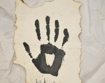The Dark Brotherhood 'We Know' Letter.