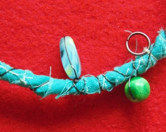 Fiber bracelet