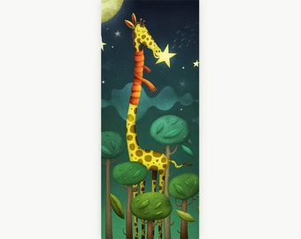 SALE - Giraffe - Limited edition print (50x23cm) - 50% off!