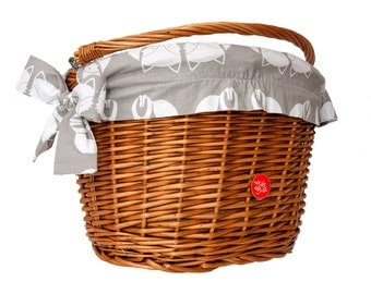 Bicycle Basket Liner, Bike Belle Fox