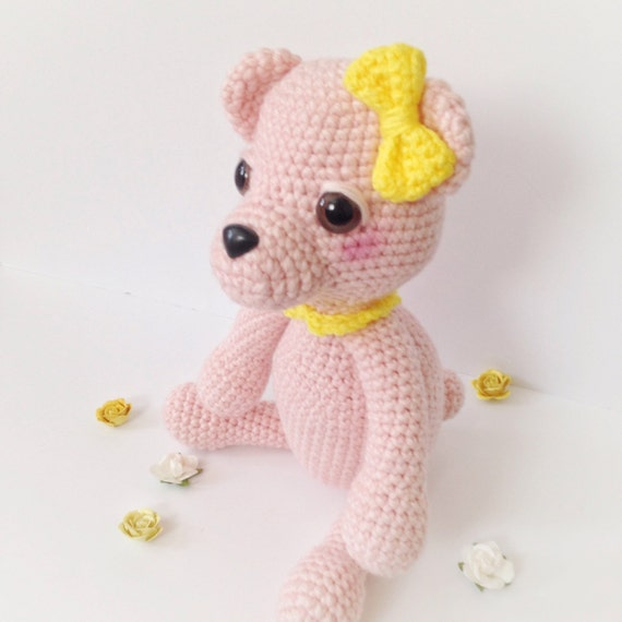 Amigurumi Baby Shower Bears : Teddy Bear Amigurumi Bear Amigurumi Crochet Bear by ...