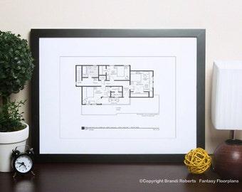 Andy Griffith Show House Floor Plan Tv Show Floor Plan