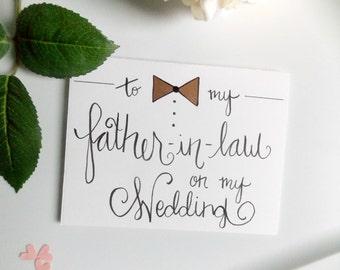 auf meiner - Hochzeitskarte für Schwiegervater - Hochzeitskarte ...