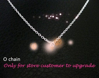 925 sterling silver necklace only for store customer upgrade.