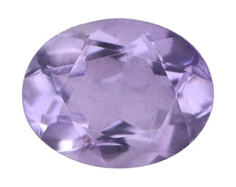 Lavender Quartz Triplet Oval Cut Loose Gemstone 1A Quality 10x8mm TGW 2.60 cts.