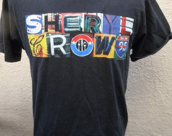 Size L (44) -- 1995 Sheryl Crow Concert Shirt (Double Sided)