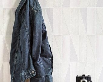 Urban Denim Patch Wallpaper R4095