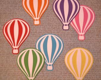 Hot air balloon decorations, Die cut balloons, Paper balloon, Hot air  balloon decor, Confetti balloon, Hot air balloon nursery