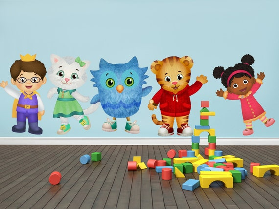 Daniel Tiger S Neighborhood Characters Decal Wall By