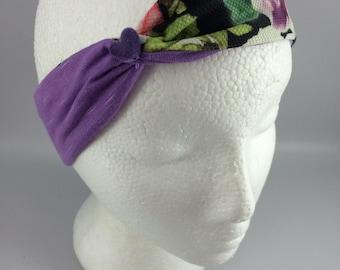 Purple headbands, baby, headband, headband, children, floral