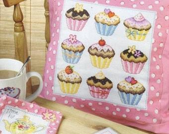 Cupcakes Cross Stitch Pattern