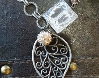 Leaf of Hope Necklace