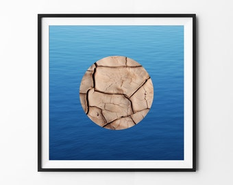 Dry // Wet | Contrast Photography | Professional Matte Photo Paper | 12 x 12 Inch