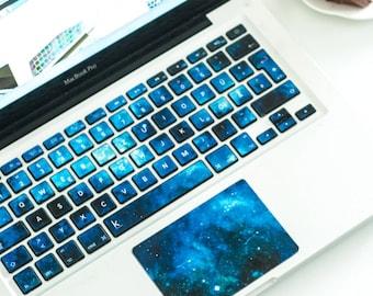 Macbook decal Macbook keyboard stickers Stickers macbook pro macbook pro keyboard sticker macbook air sticker nebula nebulae # Blue Nebula