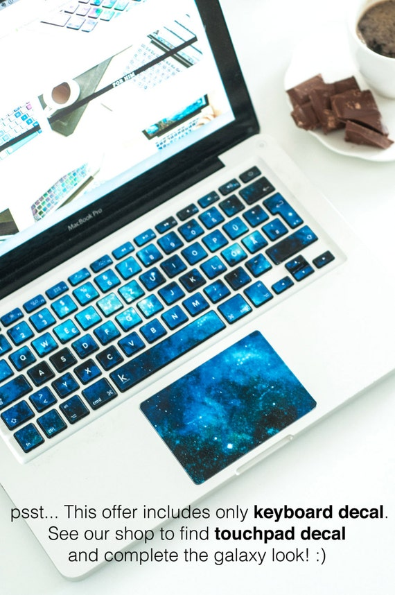 Macbook decal Macbook keyboard stickers Stickers macbook pro macbook pro keyboard sticker macbook air sticker nebula nebulae # Blue Nebula