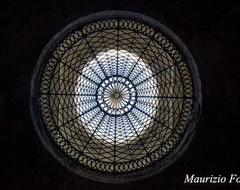 Architectural photography, abstract photography, mandala, circle, wall decorazion, fine art