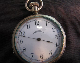 Handsome Vintage Elgin Pocket Watch From 1886