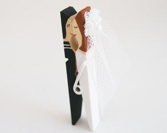 groom clothespins etsy