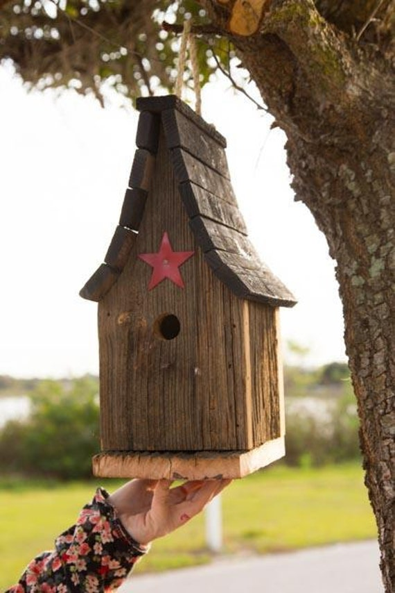 Amish Duck Houses : Amish handcrafted tall wren bird house